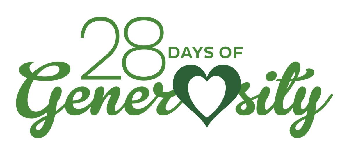 Share in 28 Days of Generosity!